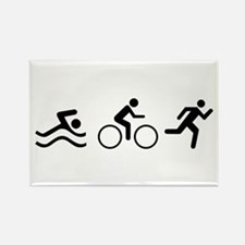 TRIATHLON LOGO Magnets