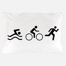 TRIATHLON LOGO Pillow Case
