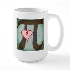 Pi Love Large Mugs