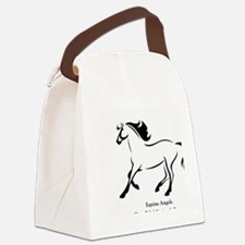 logo 1 Canvas Lunch Bag