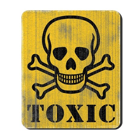 Toxic Sign Mousepad