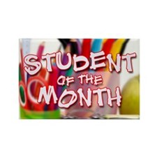 Student Of The Month 4 Magnets