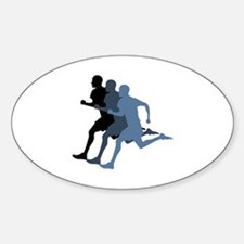 MALE RUNNER Decal