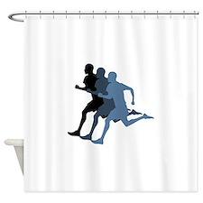 MALE RUNNER Shower Curtain