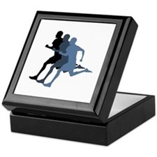 MALE RUNNER Keepsake Box