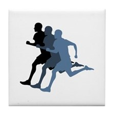 MALE RUNNER Tile Coaster