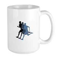 MALE RUNNER Mugs
