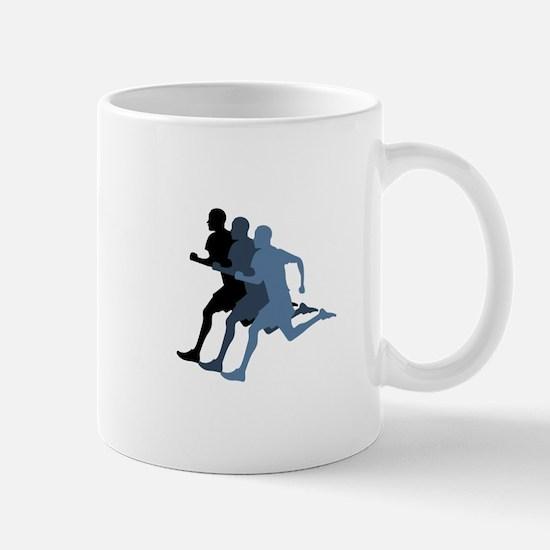 MALE RUNNER Mugs