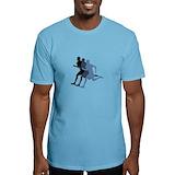 Marathon runner Fitted Light T-Shirts