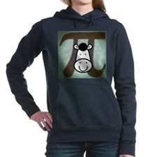 Cow Pi Women's Hooded Sweatshirt
