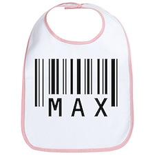 Max Barcode Baby Bib
