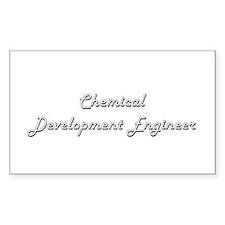 Chemical Development Engineer Classic Job Decal