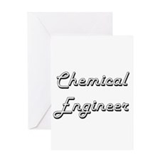 Chemical Engineer Classic Job Desig Greeting Cards