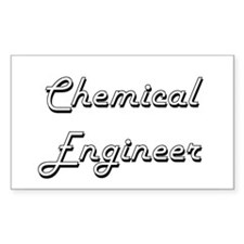 Chemical Engineer Classic Job Design Decal