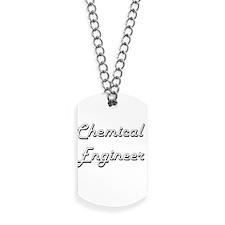 Chemical Engineer Classic Job Design Dog Tags