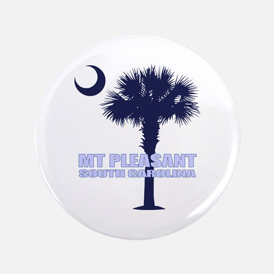 "Mt Pleasant SC 3.5"" Button"