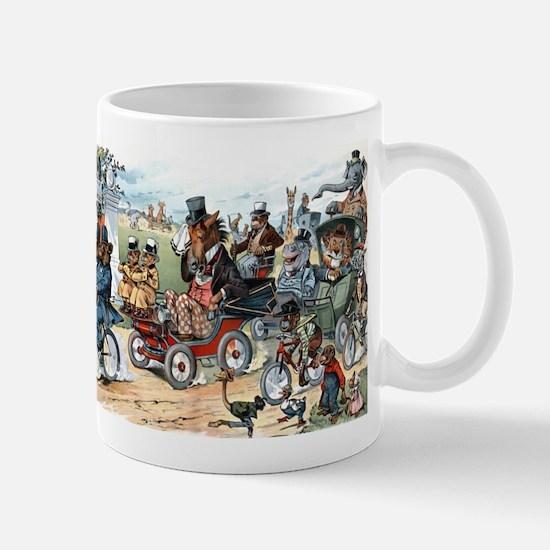 ANIMAL PARADE coffee cup