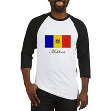 Moldova - Flag Baseball Jersey