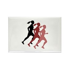 FEMALE RUNNER Magnets