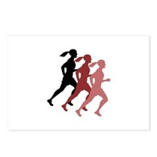 FEMALE RUNNER Postcards (Package of 8)