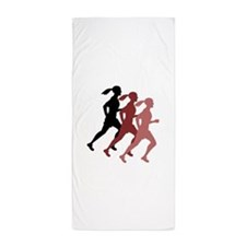 FEMALE RUNNER Beach Towel