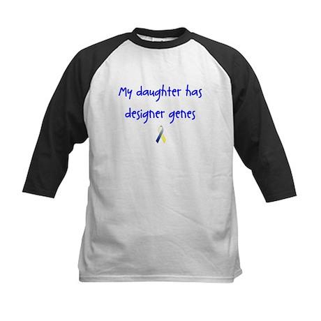 Designer Genes Daughter Ribbon Kids Baseball Jerse