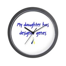 Designer Genes Daughter Ribbon Wall Clock