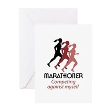 MARATHONER Greeting Cards