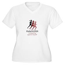 MARATHONER Plus Size T-Shirt