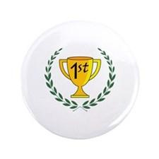 "FIRST PLACE TROPHY 3.5"" Button"