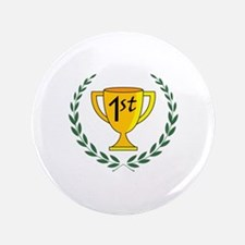 """FIRST PLACE TROPHY 3.5"""" Button"""