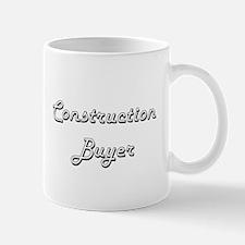 Construction Buyer Classic Job Design Mugs