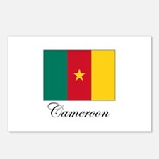 Cameroon - Flag Postcards (Package of 8)