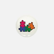 PUZZLE PIECES Mini Button (100 pack)
