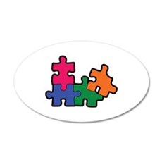 PUZZLE PIECES Wall Decal
