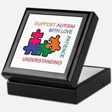 AUTISM SUPPORT Keepsake Box