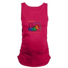 AUTISM SUPPORT Maternity Tank Top