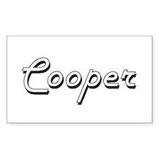 Cooper Classic Job Design Decal
