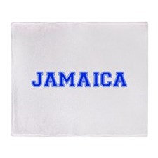 Jamaica-Var blue 400 Throw Blanket
