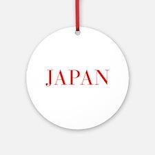 Japan-Bau red 400 Ornament (Round)