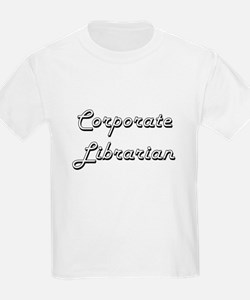Corporate Librarian Classic Job Design T-Shirt