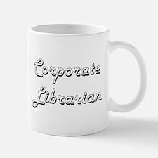 Corporate Librarian Classic Job Design Mugs