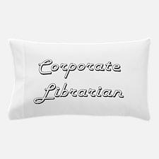 Corporate Librarian Classic Job Design Pillow Case