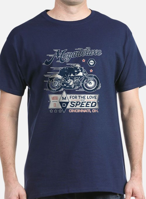 Bike - Love Of Speed Vintage T-Shirt
