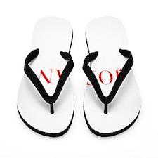 Jordan-Bau red 400 Flip Flops