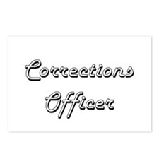 Corrections Officer Class Postcards (Package of 8)
