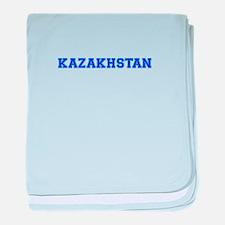 Kazakhstan-Var blue 400 baby blanket