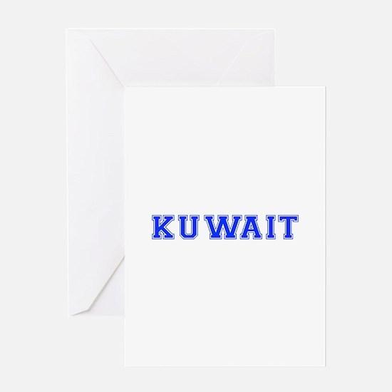 Kuwait-Var blue 400 Greeting Cards