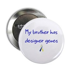 Designer Genes Brother Ribbon Button
