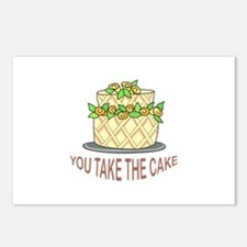 YOU TAKE THE CAKE Postcards (Package of 8)